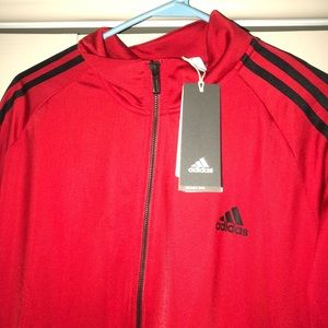 New Adidas Red Jacket